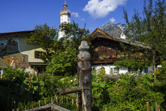 Garmisch-Partenkirchen, Bavaria Royalty Free Stock Photo