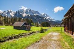 Garmisch Partenkirchen in Bavaria Stock Images