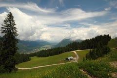 Garmisch-Partenkirchen,  Bavarian Alps Stock Photo