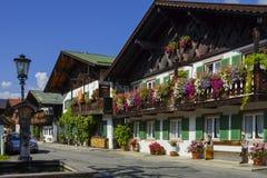 Garmisch-Partenkirchen, Bavière Images libres de droits