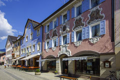 Garmisch-Partenkirchen, Baviera Immagini Stock Libere da Diritti