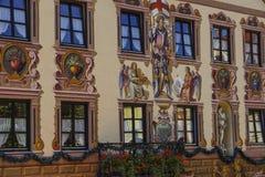 Garmisch-Partenkirchen, Baviera Fotografia Stock Libera da Diritti