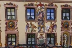 Garmisch-Partenkirchen, Baviera Fotografie Stock Libere da Diritti