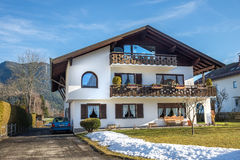 Garmisch-Partenkirchen, bayerische Alpen, Deutschland Stockbild