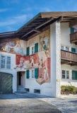 Garmisch-Partenkirchen, cumes bávaros, Alemanha, 10 01 2015: typi Fotografia de Stock Royalty Free