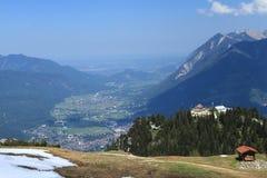 Garmisch-Partenkirchen, Duitsland Stock Foto's