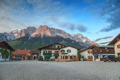 Garmisch Partenkirchen - Zugspitze - Germany Royalty Free Stock Photography