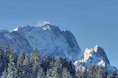 Garmisch-Partenkirchen im Winter 2008 Royalty Free Stock Images