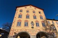 Garmisch partenkirchen la Bavière Allemagne d'hôtel de ville photo libre de droits