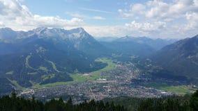 Garmisch Partenkirchen. View of garmisch Partenkirchen  in bavaria Stock Photos