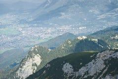 Garmisch Partenkirchen Vista Stock Image