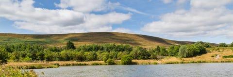 Garn See-lokales Naturreservat in Blaenavon, Wales, Großbritannien Lizenzfreies Stockbild