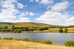 Garn See-lokales Naturreservat in Blaenavon, Wales, Großbritannien Stockbilder