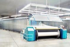 Garn-verwerfende Maschine Lizenzfreies Stockbild
