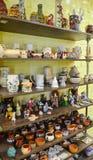 Garncarstwo, figurki, pamiątki i prezenty od ceramiki, obraz royalty free