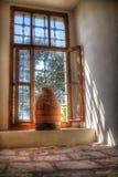 garncarstwo w drugim piętrze Ayasofya Camii Zdjęcia Royalty Free