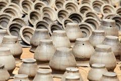 Garncarstwo w Nepal, garncarstwo Fotografia Stock