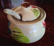garnek ceramiczny obraz royalty free