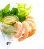 Garnele-oder Garnelen-Cocktail Stockbilder