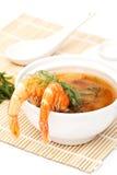 Garnele-Suppe Stockbilder