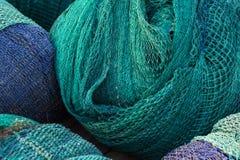 Garnelen-Netze für Beschaffenheit lizenzfreies stockbild