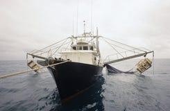 Garnelenfischenschleppnetzfischer das Golf von Carpentaria Australien Stockbild