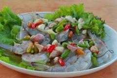 Garnelesoße ist Thailand Stockbilder