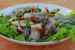 Garnelesoße ist Thailand Stockfotos
