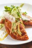 Garneli i kraba empanadas fotografia stock