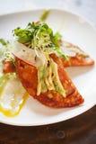 Garneli i kraba empanadas zdjęcie royalty free