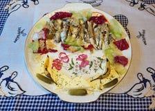 garnerad fisk Fotografering för Bildbyråer