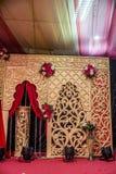 Garnering av bröllopbakgrund för abstrakt blick Arkivfoton