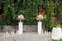 Garnering av bröllopceremonin Royaltyfri Foto