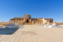 Garnering av Cesar Palace Place i Kartbok Korporation studior Ouarzazate Arkivfoton
