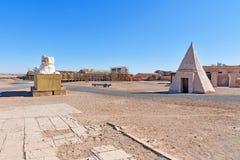 Garnering av Cesar Palace Place i Kartbok Korporation studior Ouarzazate Fotografering för Bildbyråer