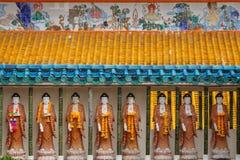 Garnering av den Kek Lok Si templet i George Town (Penang) royaltyfri bild