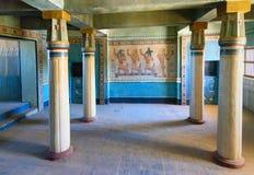 Garnering av det egyptiska huset i Kartbok Korporation studior Ouarzazate Royaltyfri Fotografi