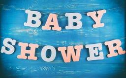 Garnering för baby shower Royaltyfria Foton