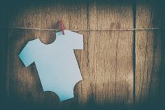 Garnering för baby shower Royaltyfri Bild