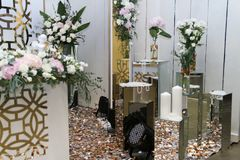 Garnering för bröllopfestivalen i Ukraina Arkivfoto