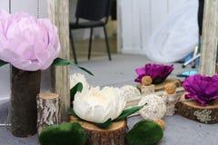 Garnering för bröllopfestivalen i Ukraina Royaltyfria Foton