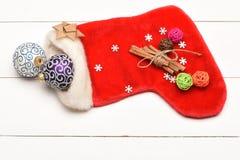 Garnering för färgrik jul eller för nytt år Arkivbilder