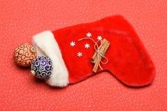 Garnering för färgrik jul eller för nytt år Fotografering för Bildbyråer