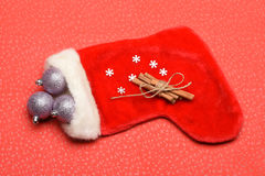 Garnering för färgrik jul eller för nytt år Royaltyfria Foton
