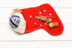Garnering för färgrik jul eller för nytt år Arkivbild
