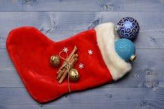 Garnering för färgrik jul eller för nytt år Royaltyfri Foto