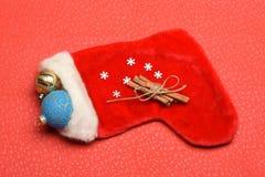 Garnering för färgrik jul eller för nytt år Arkivfoto