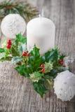 Garnering för jul Arkivbild