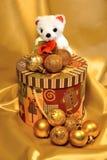Garnering för jul och nytt år. Royaltyfri Fotografi