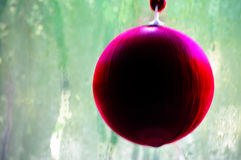 Garnering för julbollträd Royaltyfri Fotografi